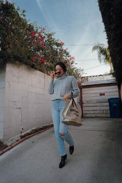 womens-fashion-ootd-grey-denim