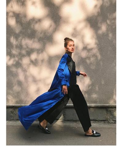 womens-fashion-inspiration-blue-black-light-coats-silk-and-satin
