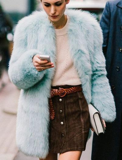 womens-fashion-inspiration-pink-fur-turquoise-suede