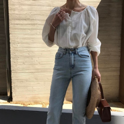 womens-fashion-ideas-white-denim