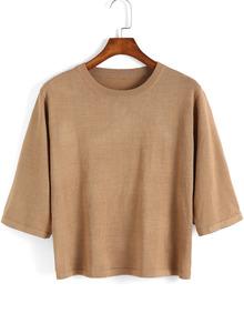 a654751daf0 Calvin Klein Jeans Women s Short Sleeve Caviar CK Logo Crew Neck T-Shirt